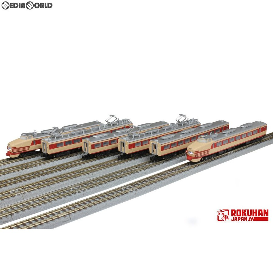 『予約安心発送』{RWM}T030-1 国鉄485系特急形電車 初期形 ひばり(クロ481) 6両基本セット Zゲージ 鉄道模型 ROKUHAN(ロクハン/六半)(2019年10月)