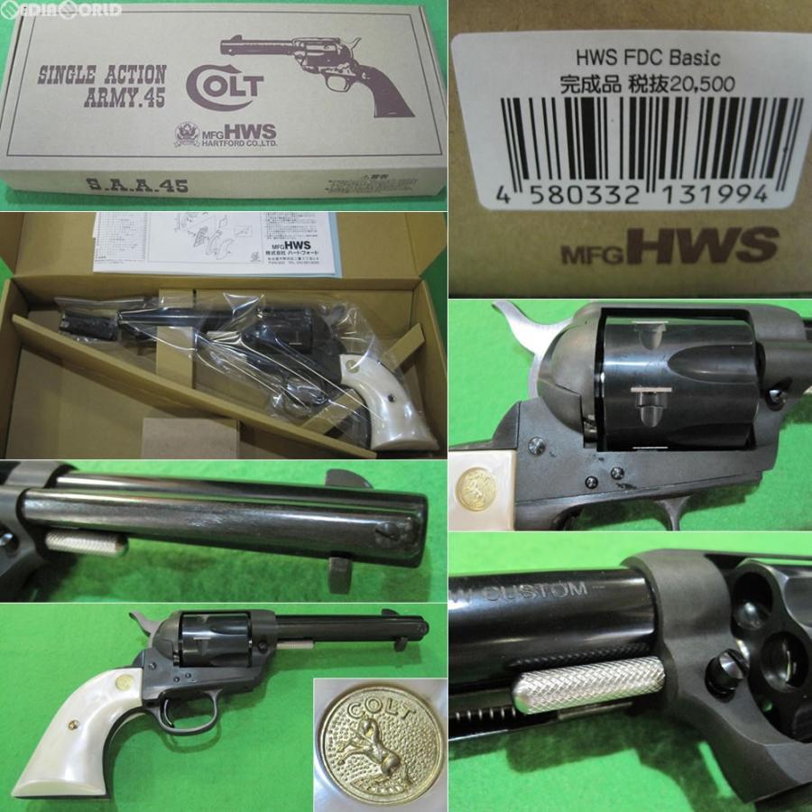 『新品即納』{MIL}ハートフォード(HWS) 発火モデルガン コルト SAA.45 FDC ベーシック 完成品(20160916)