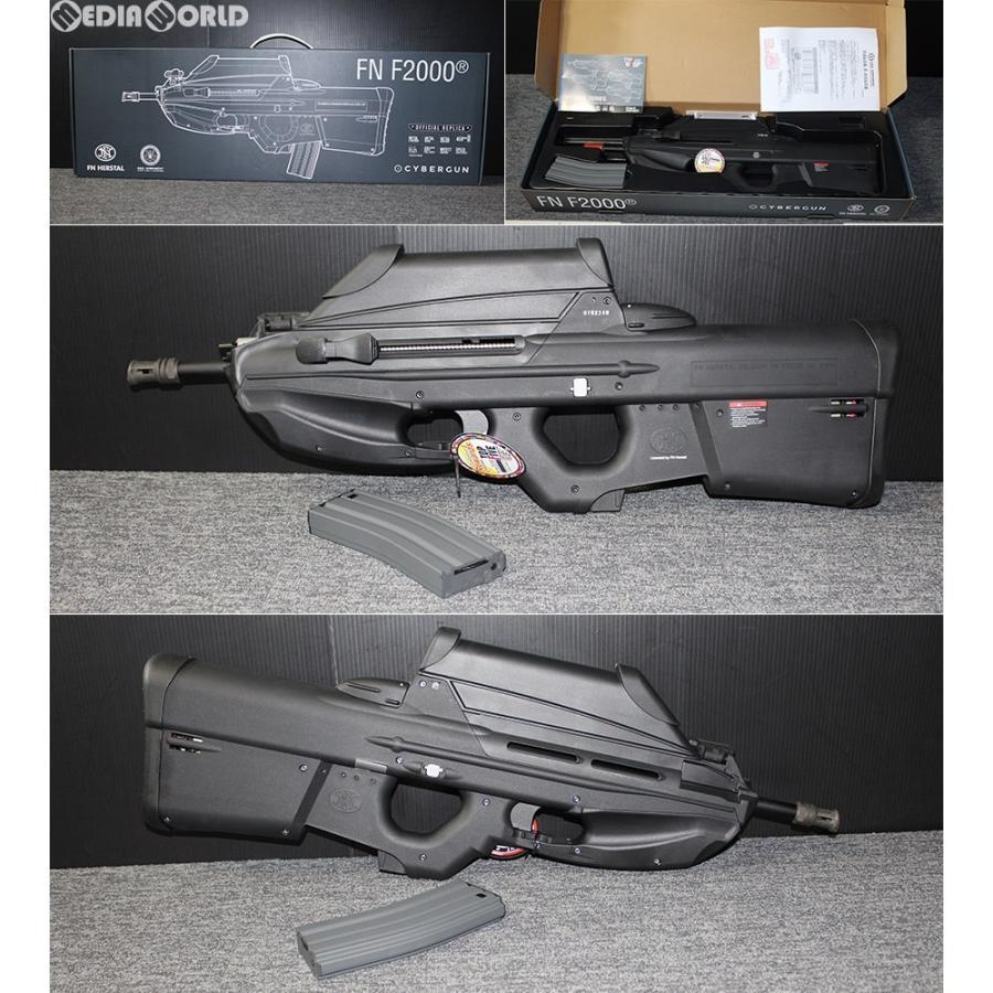 『新品即納』{MIL}G&G ARMAMENT(ジーアンドジーアーマメント) 電動アサルトライフル F2000 BK(ブラック/黒) (18歳以上専用)(20181019)