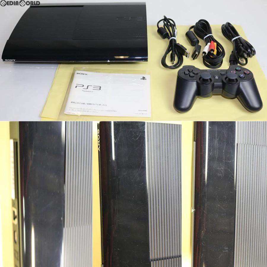『中古即納』{訳あり}{本体}{PS3}プレイステーション3 PlayStation3 HDD500GB チャコール・ブラック(CECH-4000C)(20121004)