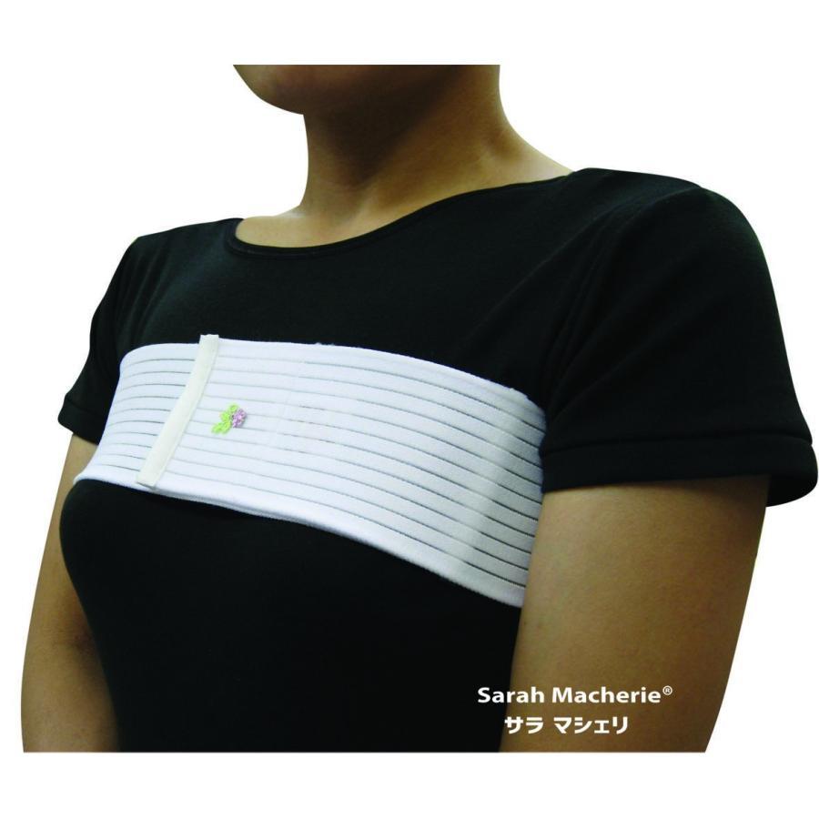 入荷予定 ブレストバンド M:90cm 乳房再建術後の固定 乳がん 新商品
