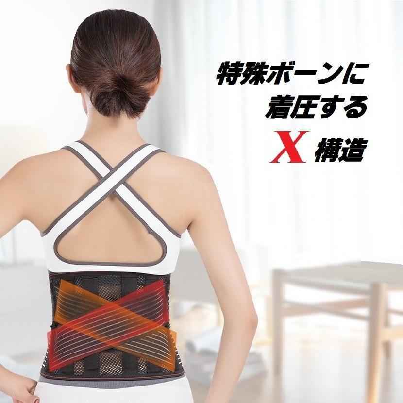 腰痛ベルト 腰痛 コルセット AIRLIFT クール メッシュ ハードフィットベルト HB03 medicollect 04