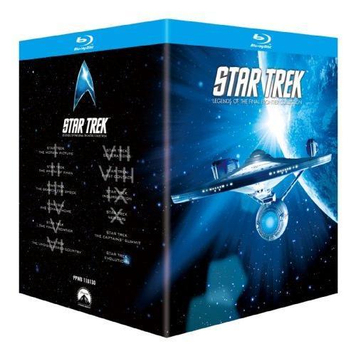 スター·トレックI-X 劇場版BOX [Blu-ray]