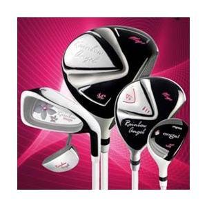 【レディース】【MEGA GOLF JAPAN Rainbow Angel2 Golf Club Set】 メガゴルフレインボーエンジェル2クラブセット 2Wood・1UT・7Iron・Putter
