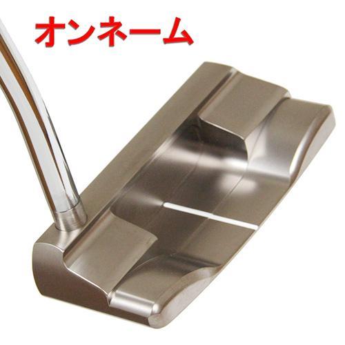 ゴルフクラブ オンネーム 軟鉄パター スクエア マレット型 ( Hirota Golf Soft Iron Putter ) 【送料無料】