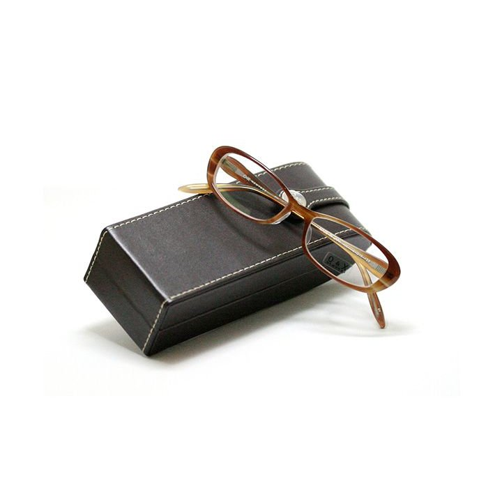 【ネット限定 訳アリ 売切り在庫処分】薄型レンズ付メガネセット O&X NewYork J-04-BR ブラウン【ユニセックス】【男女兼用】【日本製】