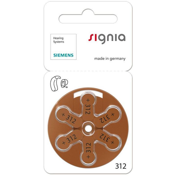 シーメンス 補聴器空気電池PR41(312)|meganenohirata