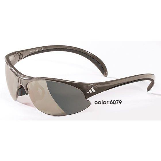 今ならメガネストラッププレゼント adidas スポーツサングラス golf a124 color:6079