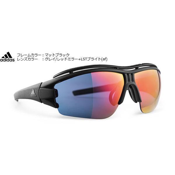 アディダススポーツサングラス adidas evil eye halfrim pro ad07L/ad07S color:75-9200 今ならメガネストラッププレゼント