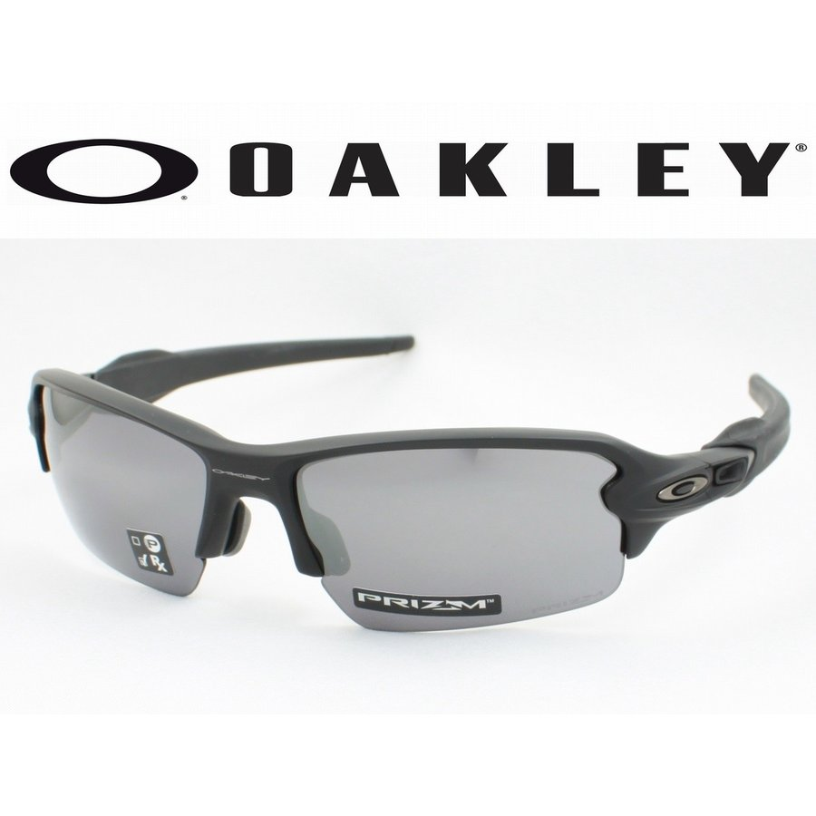 OAKLEY オークリー OO9271-2261(OO9271-22) FLAK2.0 フラック2.0 スポーツサングラス MATTE 黒 アジアンフィット