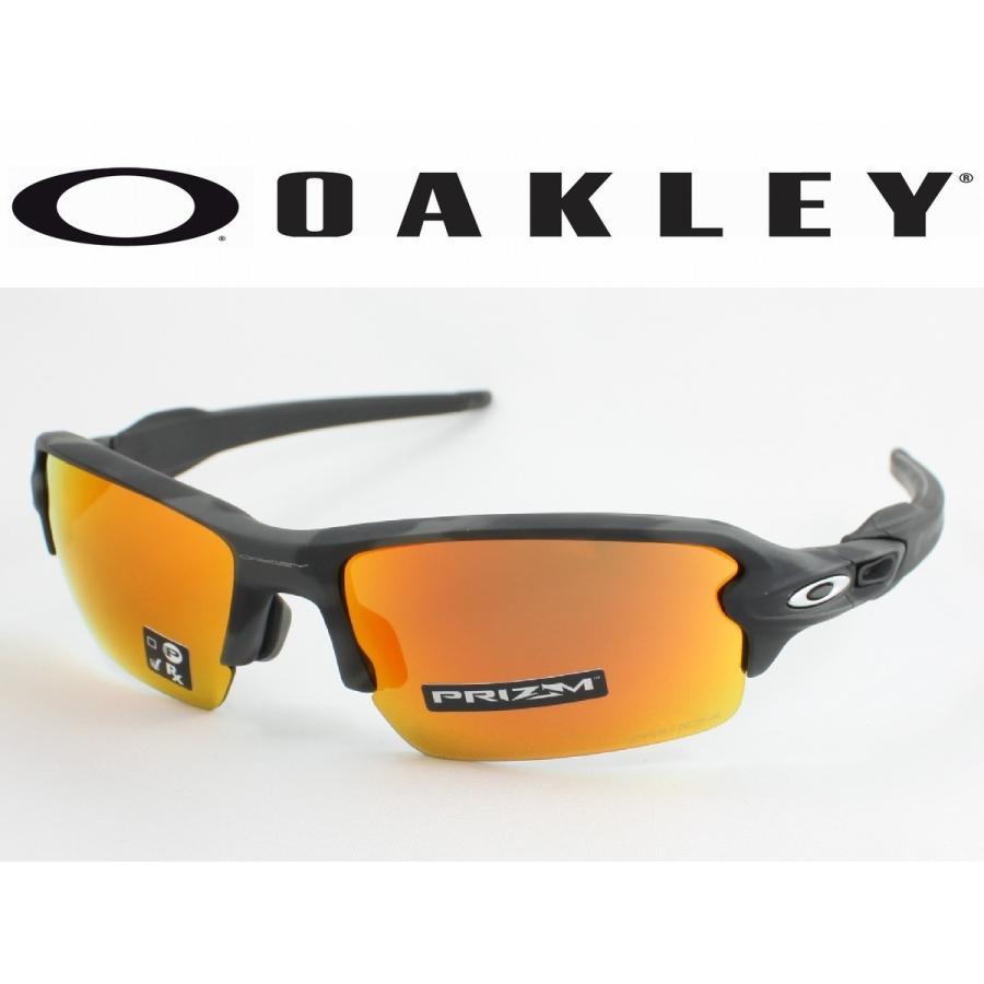 OAKLEY オークリー OO9271-2761 FLAK2.0 フラック2.0 スポーツサングラス 黒 CAMO アジアンフィット