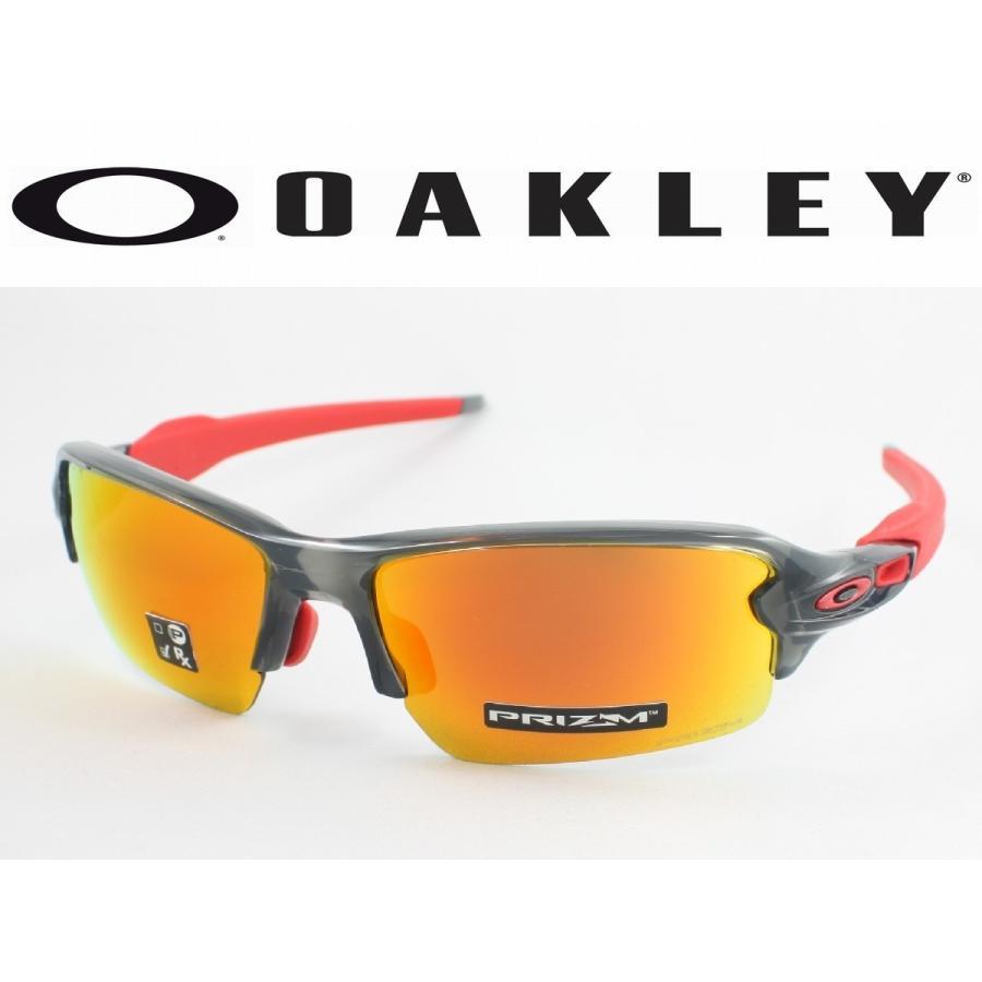 OAKLEY オークリー OO9271-3061 FLAK2.0 フラック2.0 スポーツサングラス グレー SMOKE アジアンフィット