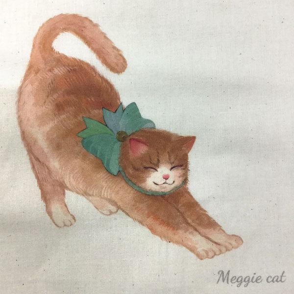 猫柄 グッズ トートバッグ レディース 猫柄バッグ ねこ柄 レッスンバッグ おしゃれ a4 バッグ 猫柄 ネコ柄 軽量 薄手 肩掛け 手提げ 通勤 通学 meggie 18