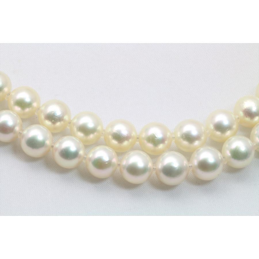 あこや 本真珠 2連 ネックレス SV925 新品 レディース|megumi-1|03