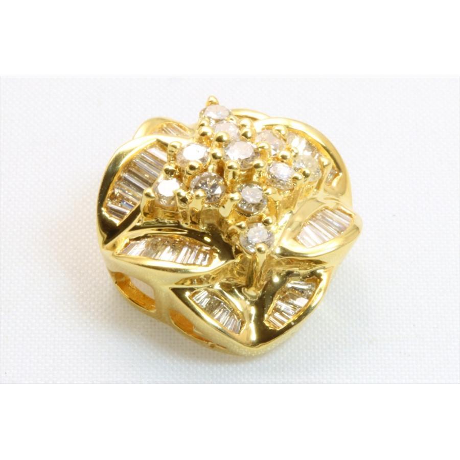 上質 ダイヤモンド 0.80ctペンダント K18 新品 レディース|megumi-1|03