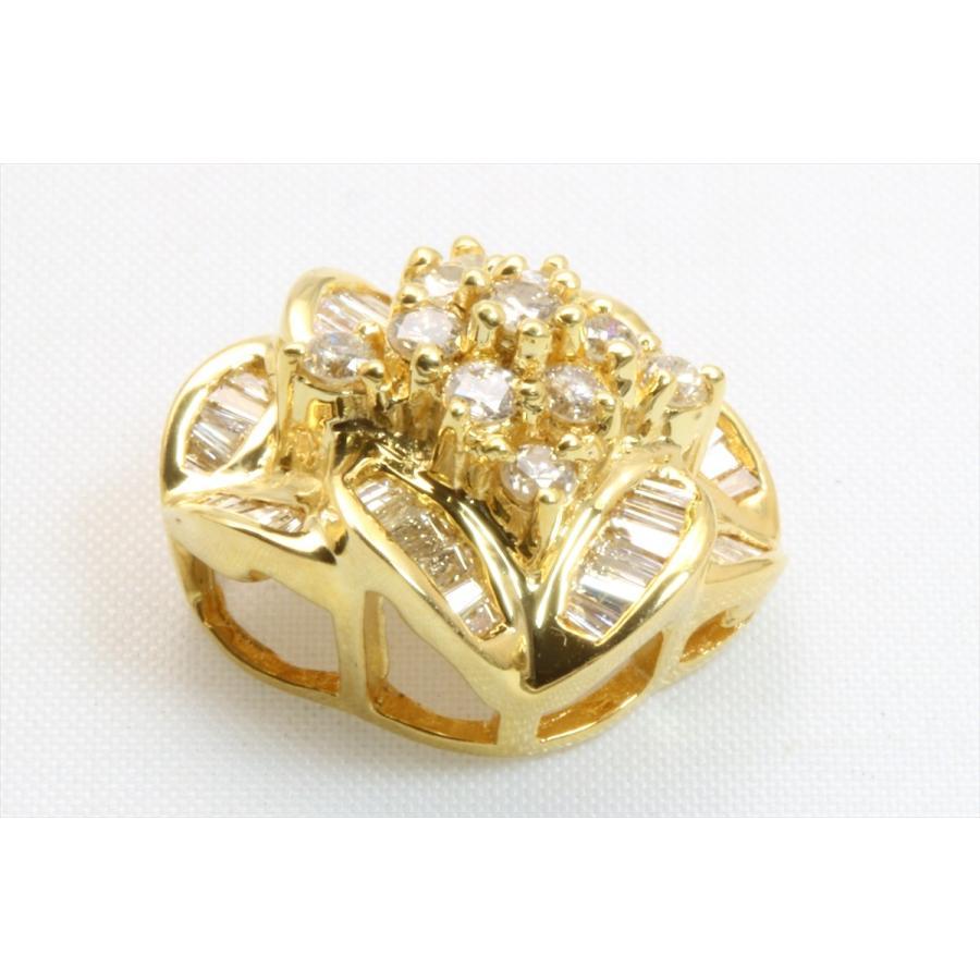 上質 ダイヤモンド 0.80ctペンダント K18 新品 レディース|megumi-1|04