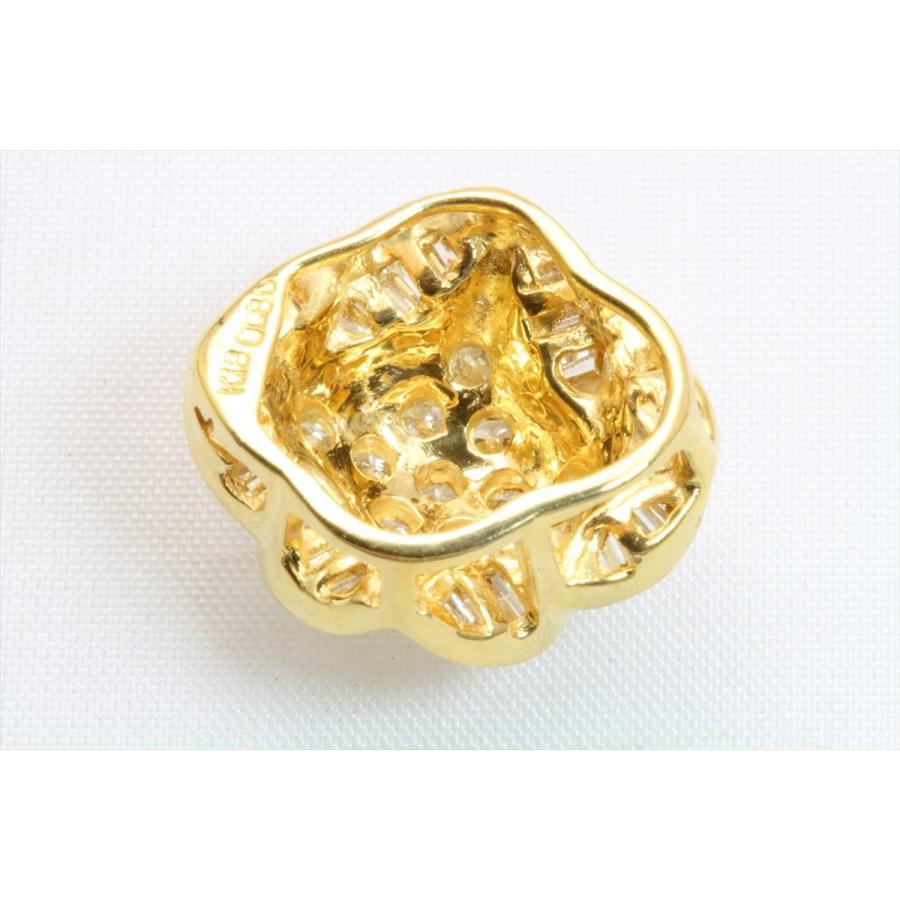 上質 ダイヤモンド 0.80ctペンダント K18 新品 レディース|megumi-1|06
