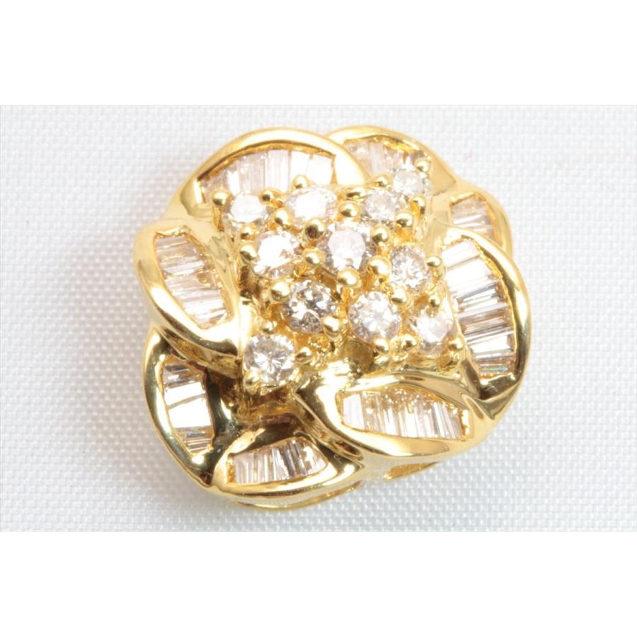 上質 ダイヤモンド 0.80ctペンダント K18 新品 レディース|megumi-1|07
