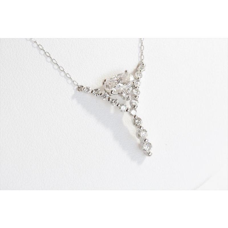 天然 ダイヤモンド ネックレス PT900 新品 レディース megumi-1 03