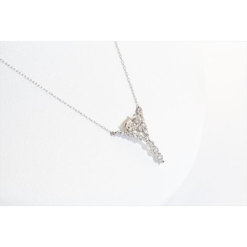 天然 ダイヤモンド ネックレス PT900 新品 レディース megumi-1 06