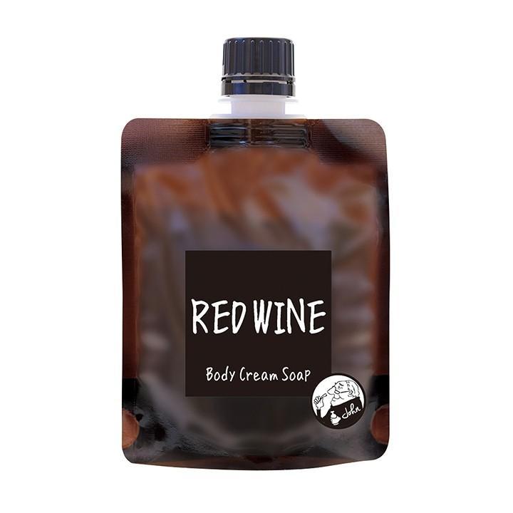 【メール便可】John's Blend ジョンズブレンド ボディクリームソープ レッドワイン|meia-lua