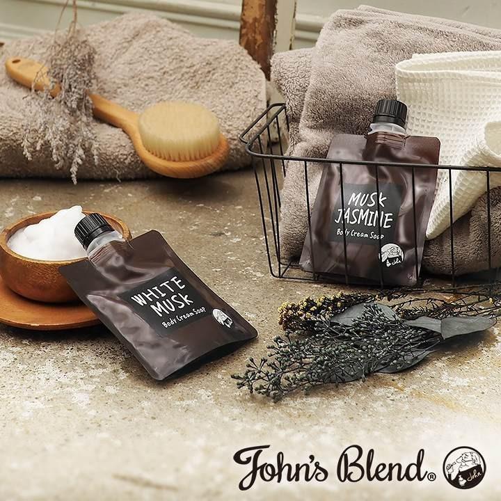 【メール便可】John's Blend ジョンズブレンド ボディクリームソープ ムスクジャスミン|meia-lua|02