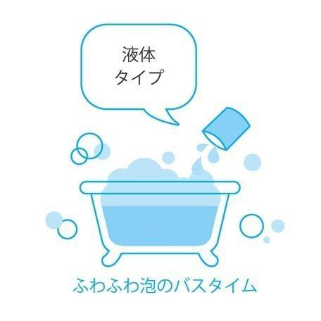 【メール便可】メントール配合 かき氷シロップバブルバス イチゴの香り|meia-lua|03