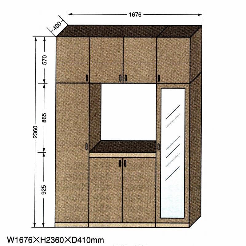 EM-1676 Iセット(完成品)W1672XH2360XD410 / 玄関収納 下駄箱 シューズボックス シューズラック