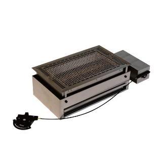山岡金属工業 ヤマキン テーブル組込型バーベキューグリル CTR-4525BBQ 13A マグマ焼仕様