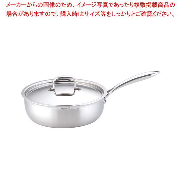 ステンレス ビタクラフトプロ ソテーパン (蓋付)28cm No.0134