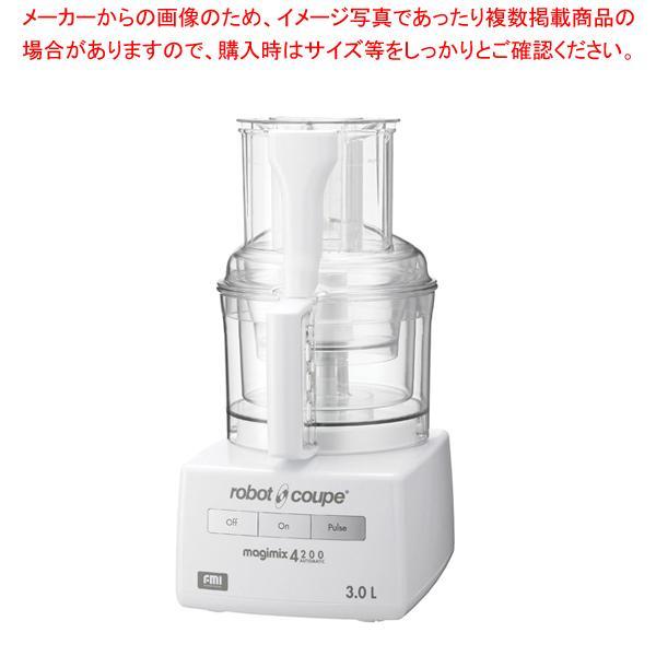 ロボ・クープ マジミックス RM-4200F