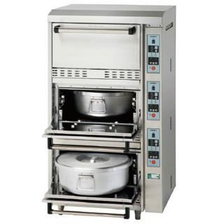 コメットカトウ 炊飯器 CRAE2シリーズ 電気式 3段タイプ 760×730×1350 CRAE2-150