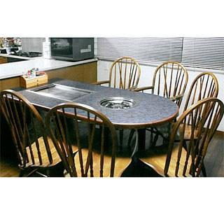 業務用電気式お好み焼き・鍋物テーブル KD-1800ES メーカー直送/代引不可