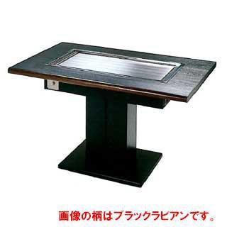 業務用ガス式お好み焼きテーブル・鉄板焼き機 テーブル型 メーカー直送/代引不可