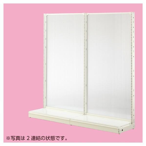 KZ片面ホワイトポリカパネルW120×H150 本体