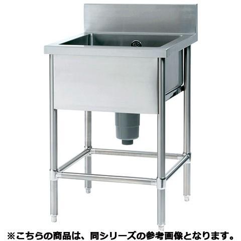 フジマック 一槽シンク(Bシリーズ) FSB1576S 【 メーカー直送/代引不可 】