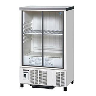 ホシザキ 冷蔵ショーケース SSB-63CTL2 幅630×奥行450×高さ1080(mm) 123リットル【 メーカー直送/代引不可 】
