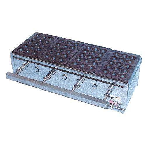 たこ焼ガス台(関東型)15穴5枚掛 LP ET-155