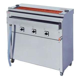 押切電機 スタンド型 電気グリラー (大串焼きタイプ) GK-10-1(給排水付) 910×410×850