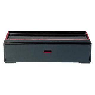 【まとめ買い10個セット品】カスター&箸箱 黒 86012340