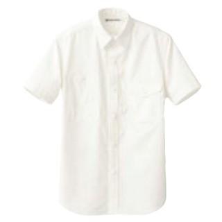 【まとめ買い10個セット品】 男女兼用半袖シャツ CH4437-0 ホワイト L