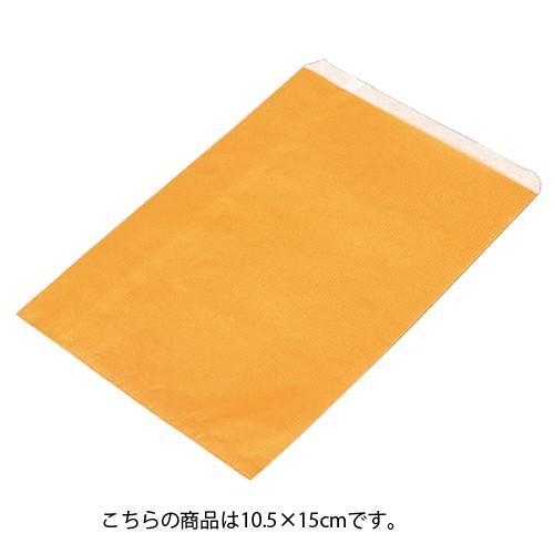 【まとめ買い10個セット品】 筋入りカラー無地 オレンジ 10.5×15 6000枚