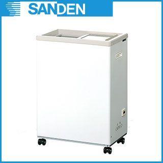 サンデン 冷凍ショーケース コンパクトフリーザー PF−G035MXE メーカー直送/代引不可 【業務用】【送料無料】
