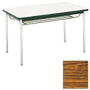 テーブル(棚付) MT2716 (A)チーク