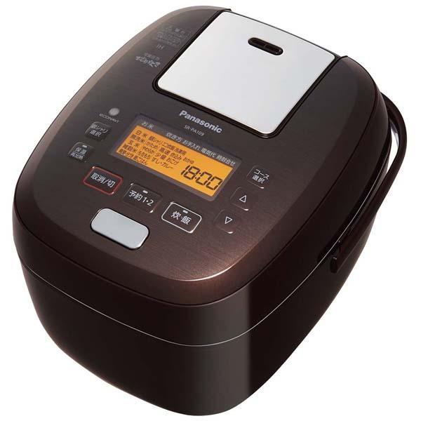 パナソニック 可変圧力IHジャー炊飯器 SR-PA109-T