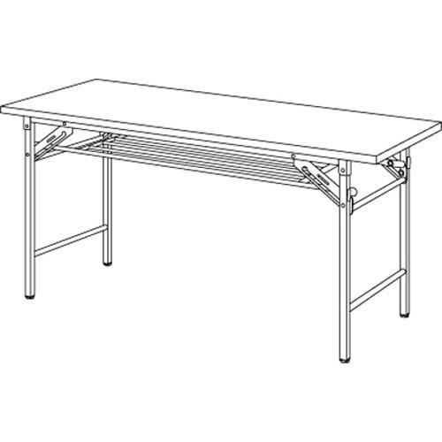 折り畳み会議テーブル YKT-1260SE(TE) チーク