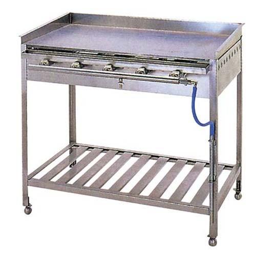 IT ガス グリドル スタンド付 TYH600 【ECJ】お好み焼・たこ焼・鉄板焼関連