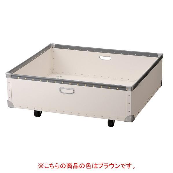 ステップテーブル用収納ボックス小 ステップテーブル用収納ボックス小 ブラウン