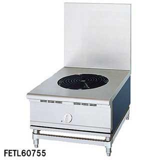 フジマック 業務用電気ローレンジ FETL60753 W600×D750×H450 メーカー直送/代引不可【】