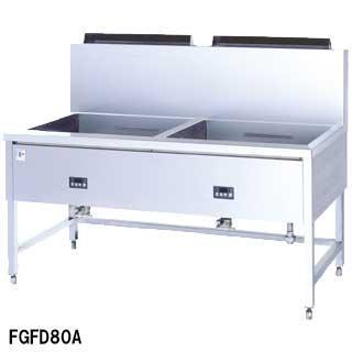 フライヤー業務用 ガスフライヤー フジマック [大型角タイプ] FGFD80A W1600×D850×H800 メーカー直送/代引不可【】